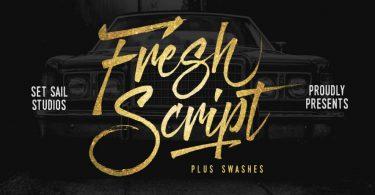 Fresh Script [1 Font]