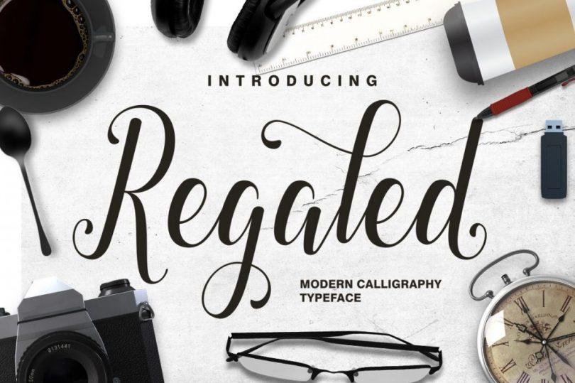 Regaled Script [1 Font]
