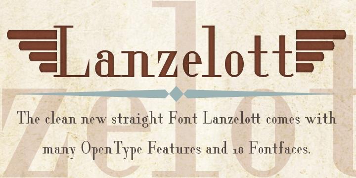 Lanzelott [18 Fonts]