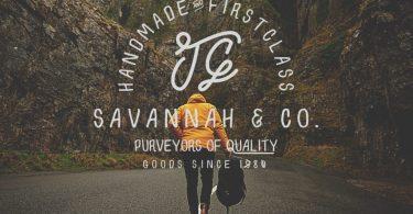 Savannah & Co [1 Font]