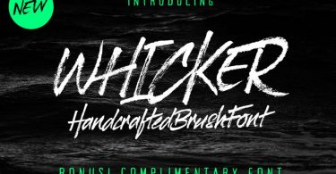 Whicker [2 Fonts]