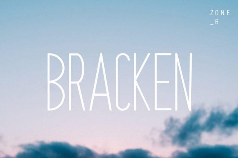 Bracken [6 Fonts]
