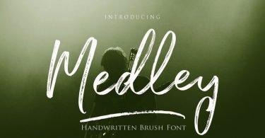 Medley Script [4 Fonts]