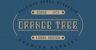 Orange Tree [6 Fonts]