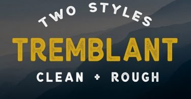 Tremblant [2 Fonts]
