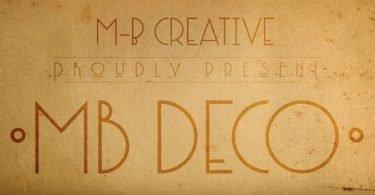 MB Deco [1 Font]