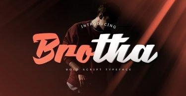 Brotha Script [1 Font]