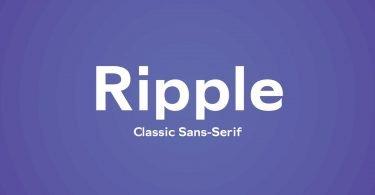 Ripple [1 Font]