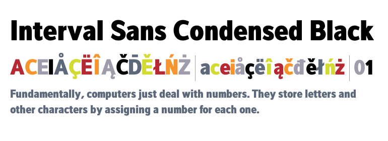Address Sans Pro Condensed Super Family [16 Fonts]
