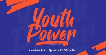 Youth Power [1 Font]