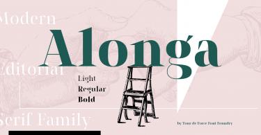 Alonga [3 Fonts]