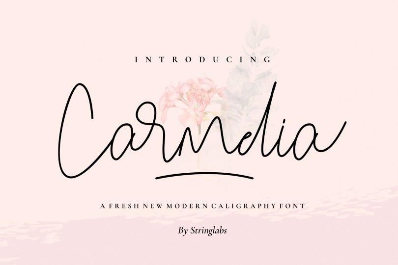 Carmelia [1 Font]