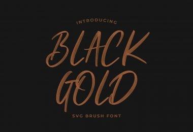 Black Gold [1 Font]