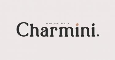 Charmini [18 Fonts]