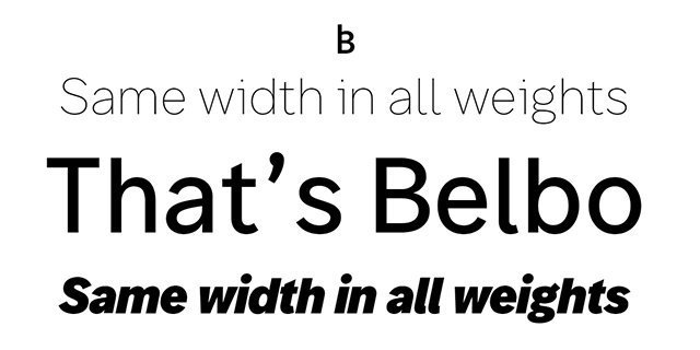 Belbo Super Family [24 Fonts]