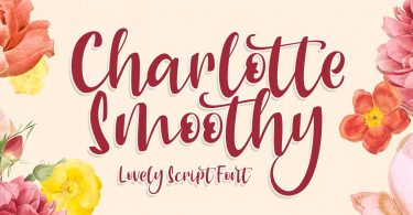 Charlotte Smoothy [1 Font]