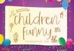 Children Funny [2 Fonts]