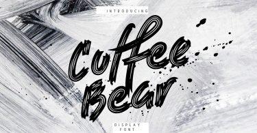 Coffee Bear [1 Font]