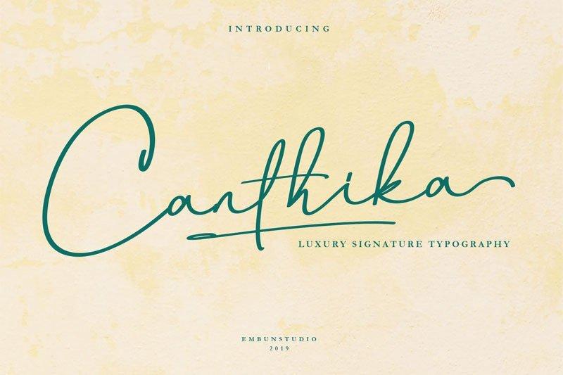 Canthika [1 Font]