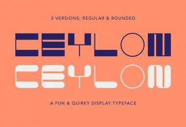Ceylon [2 Fonts]