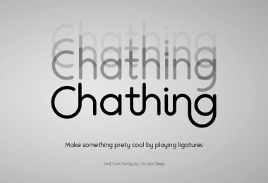 Chathing [4 Fonts]