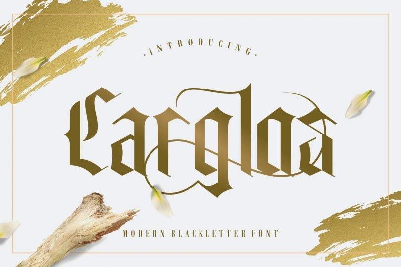 Carglos [1 Font]